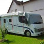 Abdeckplane für Wohnmobile, Wohnwagen und Caravan