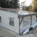 Transparente Plane - Fensterplane für Pavillons, Wintergärten oder im Campingbereich