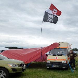 Zeltplane für Festivals