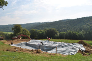 Teichfolie aus PVC-Material für Ihren Garten