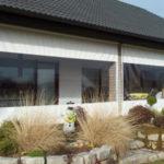 Planen mit Fenstern für den Wintergarten