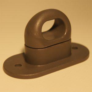 Drehverschluss aus Kunststoff mit ovaler Öse