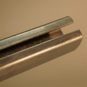 Schienenprofil mit Stahl verzinkt