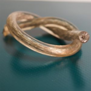 Zollseil mit Stahldraht und 8 mm Durchmesser
