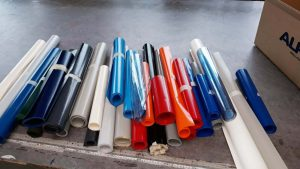Sonderposten der PVC Planen in diversen Farben