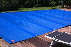 Winterplane aus PVC für Pools und Schwimmbäder
